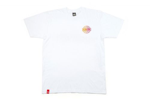 BSD Fade T-Shirt - White - Large